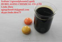 Liquid SLS Sodium Ligno For Cement Additive Asphalt Emulsifier