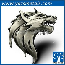 chrome plating metal 3d signs for car