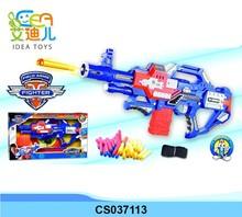 Chenghai hot selling kids toy soft bullet gun toy