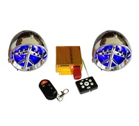 Motorcycle anti-theft mp3 alarm and FM function
