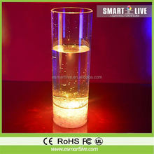 Factory sell led plastic cup wine