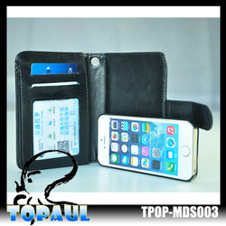 Newest Phone Cases Mobile Phone PU Leather Case For Iphone 4 4s