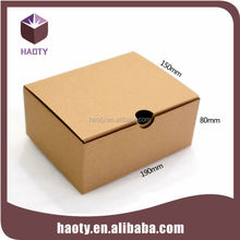 Kraft paper box packaging for shoes