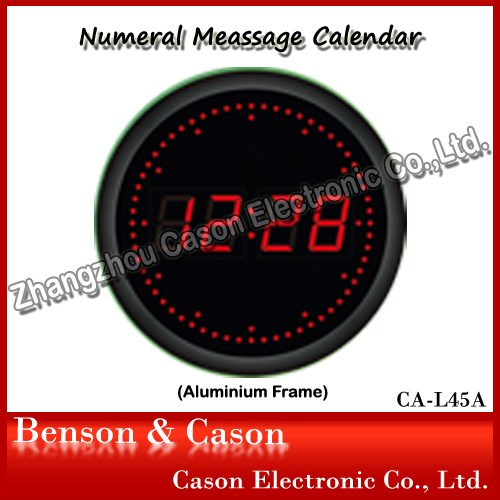 White Light Led Digital Wall Clock Buy White Light Clock