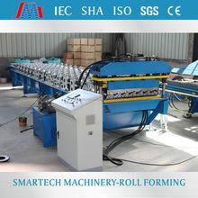 glazed tile roll forming machine high quality color steel step tile roof tile sheet roll former forming line