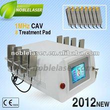 2012 new CE 8 treatment Pads 1MHz cavitation slimming machine