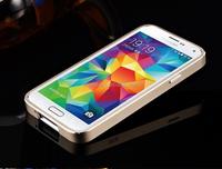 For Samsung Galaxy S5 Aluminum bumper + tpu Cover Case