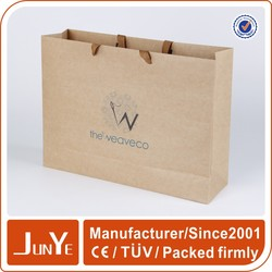 Luxury promotional large paper grocery bag make
