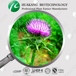 Health care product ethanol extracted organic milk thistle extract