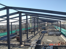 steel structure for Prefabricated Houses