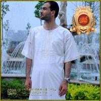 Fashion men arabic muslim islamic men thobe;thawb robes