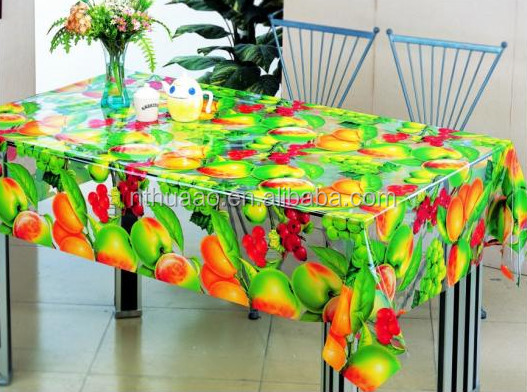 pvc printing film plastic sheet table cloth for packaging