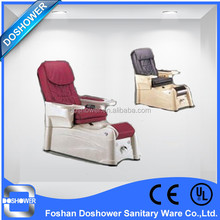 pipeless modern pedicure chair dynamical foot massage bed with human touch massage