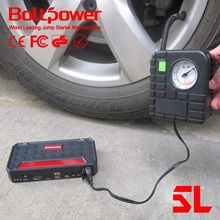 Carry Case &Dual USB Device Charging Ports for jump starter with air compressor