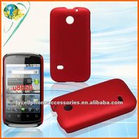 For Huawei Sonic U8650 Hot Red color mobile phone plastic case