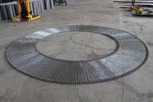 checkout counter for supermarket stainless steel conveyor belt Spiral wirelink belts