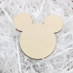 Wooden Mickey Confetti /Laser Cut Mickey mouse inspired Party