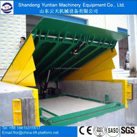 Warehouse stationary ramp /container load ramp/dock leveler for sale