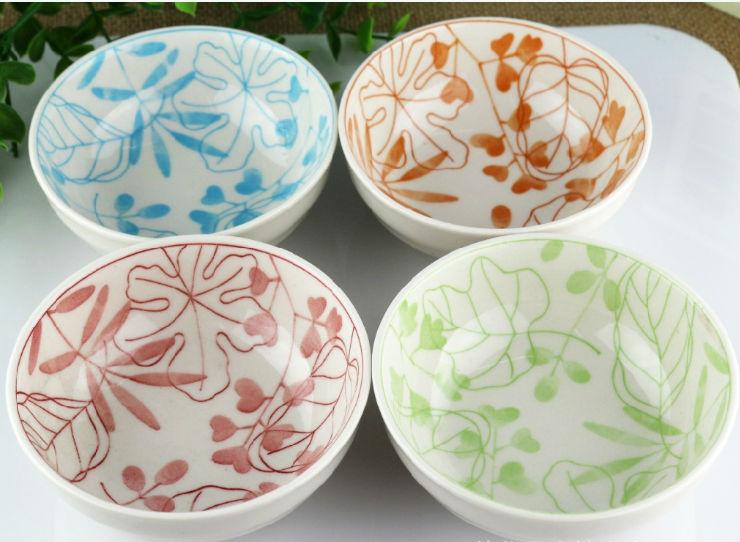 Personalizado nico pintadas a mano cuencos de cer mica for Productos para ceramica