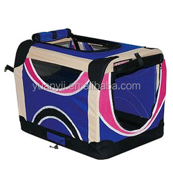 Large soft pet crate dog carrier travel soft sided pet carrier