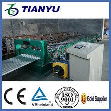 Equipo para la pequeña empresa galvanizado bandeja de cable de acero que forma la máquina