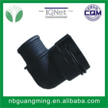 cheap adjustable round injection molding plastic tube connector