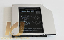 SSD HDD HD Hard Disk Driver Caddy 9.5mm External Case SATA to SATA 2nd for CD DVD DVD-ROM Optical Bay for MAC Laptop