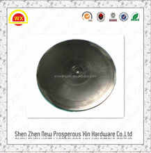 Factory made zinc plated round table with turntable