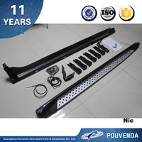 Aluminum Side Step Running Board for BMW X3 F25 11+ Runing board (with light) Auto accessories from Pouvenda