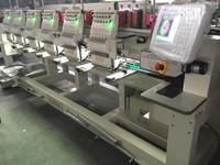 ZANG six heads flat cap garment embroidery machine