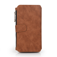 For Samsung S6 magnet removable fancy cell phone wallet cases