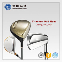 Titanium forged golf driver club head supplier in China