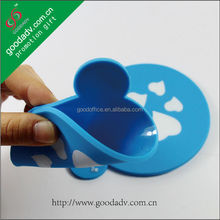 OEM Factory - Square shape cartoon desing promotion soft pvc coaster