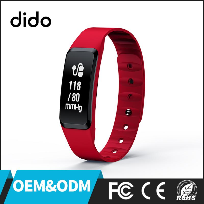 Dido OEM/ODM F8 Monitor de ritmo cardíaco fitness Tracker wristband 2017