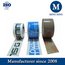 Good viscosity and tensile Adhesive custom printed tape