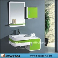 mdf bathroom cabinet with towel bar