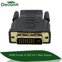24+1 DVI Male to HDMI Female Converter HDMI to DVI adapter Support 1080P for HDTV LCD,Wholesale