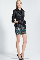 OEM Service Supply Type Adults Age Group full length ladies leather coat