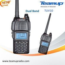 Make communication better! Dual band walky talky with FM Radio V18