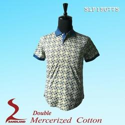Exquisite polo shirt,Wholesale polyester/cotton latest design fashion t shirt custom mens polo shirts