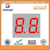 2 digit digital 7 segment led numeric display
