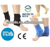 Comfortable,self-heating,elastic and orthopedic ankle support padded with tourmaline,spandex,magnetic,lycra,neoprene and velcro