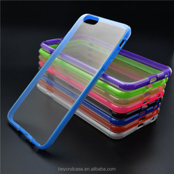 Promotion wholesale custom pc case for iphone 6,for iphone 5 matte black case pc