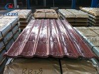 Matt structure coating roofing sheet