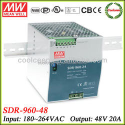 Meanwell SDR-960-48 960w din rail mount switch power supply