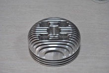 aluminum cylinder cover cnc machining/precision cnc machining cylinder parts/cylinder cover turning parts