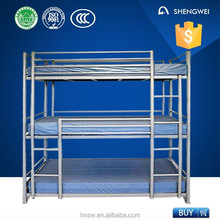 3 person use 3 person bunk bed from professional manufacture