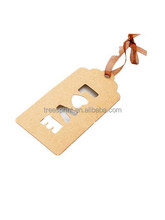 China manufacturer Kraft Paper Hang Tag with Top Quality