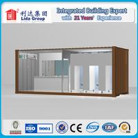 CE verify portable steel frame field toilet