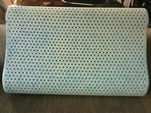 Gel Infused Talalay Contour Latex Pillow with polyester inner over and strech knitted outer cover